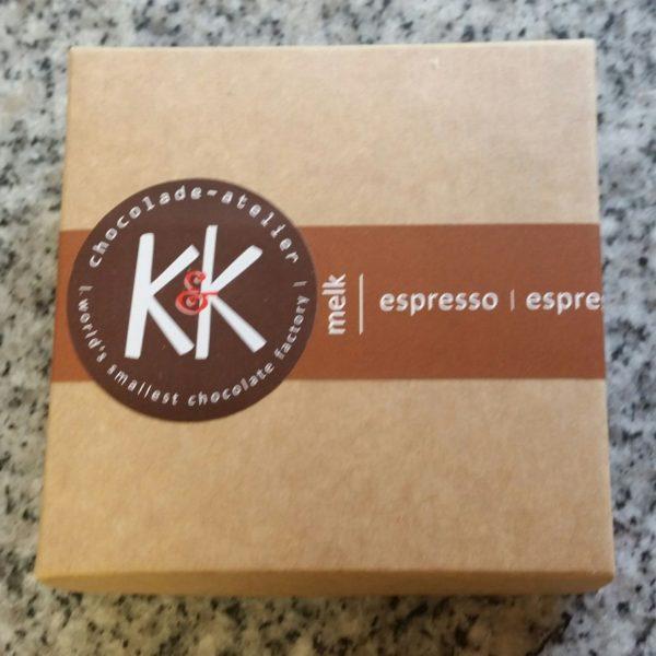 espresso koffie melk milk chocolade chocolate